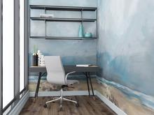 Квартира «Небесно-голубой проект», кабинет . Фото № 28330, автор Нестеренко Юлия
