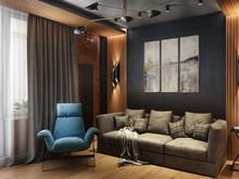 Квартира «Проект Царская столица», гостиная . Фото № 28333, автор Fisheye Architecture & Design   Александр
