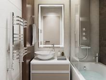 Квартира «Проект Царская столица», ванная . Фото № 28337, автор Fisheye Architecture & Design   Александр
