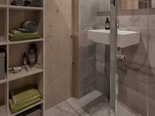 Квартира «Квартира студия для молодого человека», ванная . Фото № 28345, автор Нестеренко Юлия