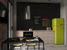Квартира студия для молодого человека, фото № 7760, Нестеренко Юлия