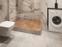 Квартира «Эко-минимализм на Смольном Проспекте», ванная . Фото № 28349, автор Fisheye Architecture & Design   Александр