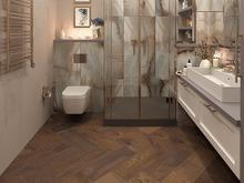 Квартира «Неоклассика на  Смольном проспекте», ванная . Фото № 28362, автор Fisheye Architecture & Design   Александр