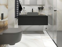 Квартира «ЖК Елагин Апарт», ванная . Фото № 28387, автор Fisheye Architecture & Design   Александр
