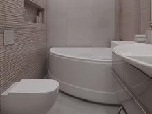 Квартира «Полет бабочки», ванная . Фото № 28403, автор Нестеренко Юлия