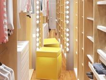 Квартира «Стильность и практичность. Квартира в современном стиле.», гардеробная . Фото № 28413, автор 2GO Design Studio