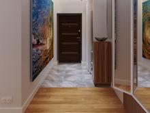 Квартира «Стильность и практичность. Квартира в современном стиле.», прихожая . Фото № 28414, автор 2GO Design Studio