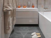 Квартира «Стильность и практичность. Квартира в современном стиле.», ванная . Фото № 28415, автор 2GO Design Studio