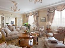 Квартира «Скромное обаяние буржуазии», гостиная . Фото № 28432, автор Некрасов Андрей