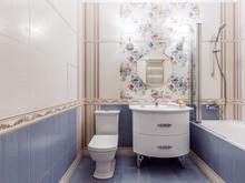 Квартира «Мечты сбываются», ванная . Фото № 28454, автор Херцман Алла