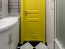 Квартира «Капля желтого», ванная . Фото № 28465, автор Сизинцева Александра
