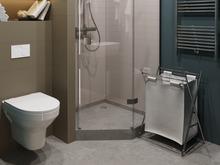 Квартира «25 квадратов счастья в ЖК Лесной», ванная . Фото № 28504, автор Платонова Ирина