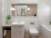 Квартира «Квартира в Калининграде», ванная . Фото № 28510, автор Комаров Михаил