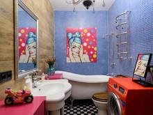 Квартира «Crazy Loft», ванная . Фото № 28557, автор Кутенковы Александр и Ирина