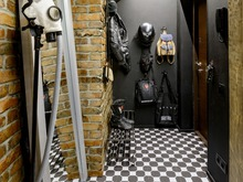 Квартира «Crazy Loft», прихожая . Фото № 28558, автор Кутенковы Александр и Ирина