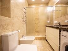 Квартира «Квартира в Севастополе», ванная . Фото № 28568, автор Дуквен Ольга