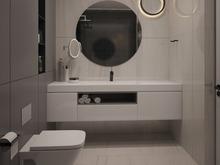 Квартира «39 квадратов», ванная . Фото № 28576, автор Жиган Ирина