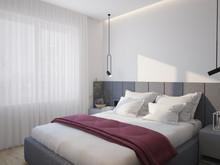 Квартира «39 квадратов», спальня . Фото № 28574, автор Жиган Ирина