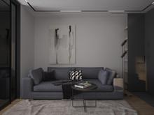 Квартира «39 квадратов», гостиная . Фото № 28573, автор Жиган Ирина