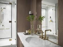 Квартира «Квартира в ЖК Итальянский квартал в Москве», ванная . Фото № 28662, автор Филиппова Марина