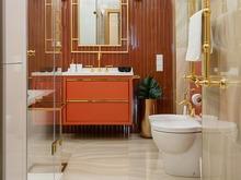 Квартира «Легкая нео-классика», ванная . Фото № 28703, автор Воеводина Татьяна