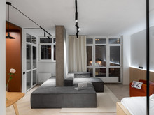 Квартира «LIPKY TWINS», гостиная . Фото № 28740, автор Черевко Юлий