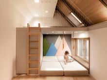 Квартира «Mansard apartment by the PAINTIT architectural workshop», детская . Фото № 28750, автор Черевко Юлий