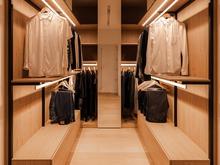 Квартира «Mansard apartment by the PAINTIT architectural workshop», гардеробная . Фото № 28754, автор Черевко Юлий