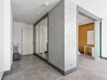 Квартира «Однокомнатная квартира в современном стиле», прихожая . Фото № 28780, автор Полонский Глеб