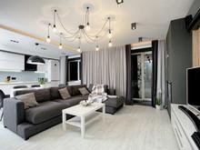 Квартира «Скандинавский прагматизм», гостиная . Фото № 28797, автор Кукушкин Денис