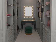 Квартира «По следам Возрождения», гардеробная . Фото № 28818, автор Горчакова Ольга
