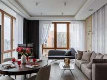 Квартира ««Интерьер для миллениала»», гостиная . Фото № 28823, автор Василов Денис, Дизайн Холл