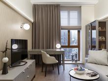 Квартира ««Интерьер для миллениала»», кабинет . Фото № 28827, автор Василов Денис, Дизайн Холл