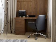 Квартира «Квартира в ЖК Алые паруса», кабинет . Фото № 28844, автор Андрея Стубе архитектурное бюро