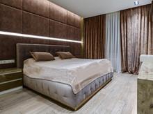 Квартира «Интерьер четырехкомнатной квартиры», спальня . Фото № 28851, автор Полонский Глеб