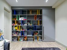 Квартира «Интерьер четырехкомнатной квартиры», детская . Фото № 28857, автор Полонский Глеб