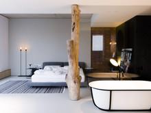 Квартира «Soft loft», спальня . Фото № 28872, автор Петров Дмитрий