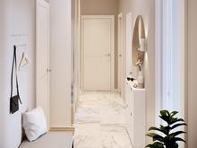 Квартира «Геометричная скандинавия», коридор . Фото № 28890, автор Kipri Taya