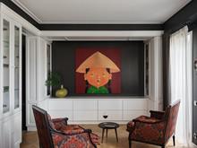 Квартира «Эклектика в Минске», гостиная . Фото № 28903, автор Дамиани-Каштанова Татьяна