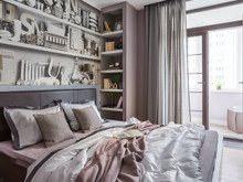 Квартира «Piccola Parigi», спальня . Фото № 28921, автор Дамиани-Каштанова Татьяна