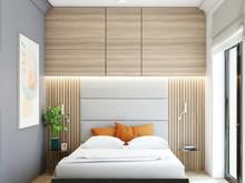 Квартира «Жк Im на Садовом», спальня . Фото № 28941, автор Сидорова Маргарита
