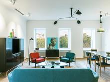Квартира «Квартира на Патриарших прудах», гостиная . Фото № 28952, автор Лагутин Максим