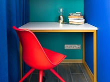 Квартира «Звездные Войны и абстакционизм», кабинет . Фото № 29006, автор Назирова Ольга