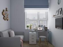 Квартира «Восхождение», кабинет . Фото № 29078, автор Галкина Мила