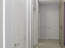 Квартира «Бетон и нежность.», коридор . Фото № 29084, автор Сергиенко Алина