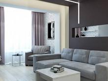 Квартира «Минимализм», гостиная . Фото № 29094, автор Дуквен Ольга