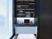 Квартира «Квартира для студента режиссёрского факультета», кабинет . Фото № 29108, автор GM-Interior GM-interior