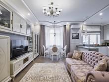 Квартира «Легкость бытия.», гостиная . Фото № 29149, автор Окерблом Галина