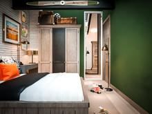 Квартира «Manhattan Loft », спальня . Фото № 29182, автор INRE