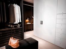 Квартира «English Quarters», гардеробная . Фото № 29213, автор INRE